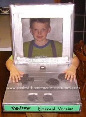 A Live Gameboy Costume