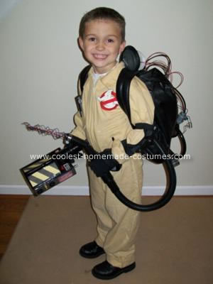 Ghostbusters Homemade Halloween Costume