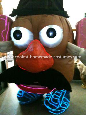 Homemade Giant Mr. Potato Head Costume