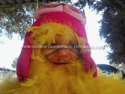Coolest Goldie the Chicken Pilot Homemade Costume