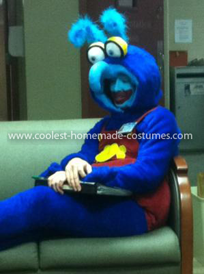 Coolest Gonzo the Muppet Baby Costume