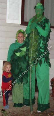 Green Giant and Sprout Couple Costume