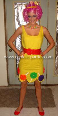 Homemade  Group Candyland Costume