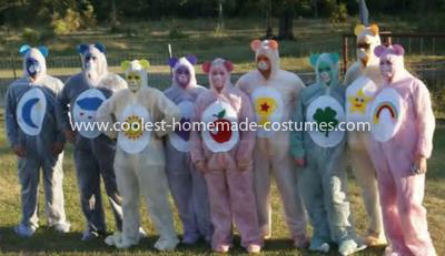 Coolest Group Care Bears Costume 12