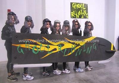 Homemade Group Running Costume