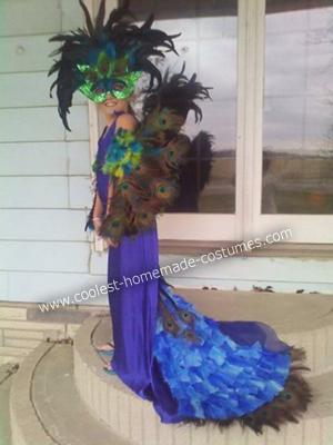 Halloween Peacock Costume