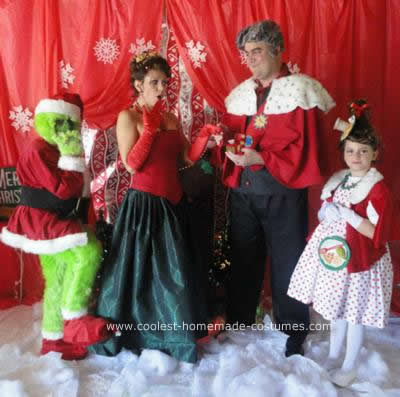 Handmade Grinch Character Group Costumes