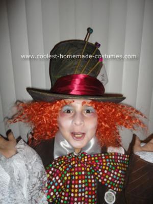 Handmade Mad Hatter Costume