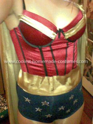Coolest Handmade Wonder Woman Costume