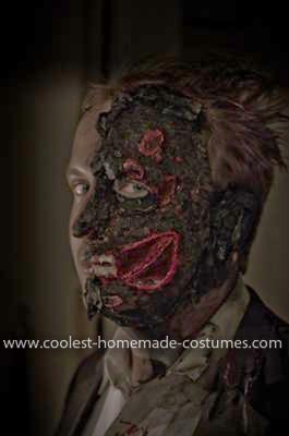 Homemade Harvey Dent Two Face Costume