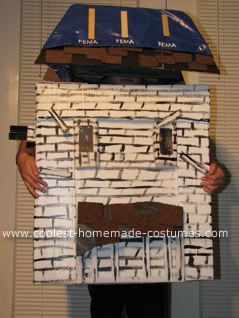 Haunted FEMA House Costume