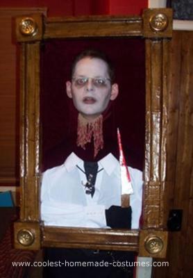 Homemade Haunted Portrait Costume