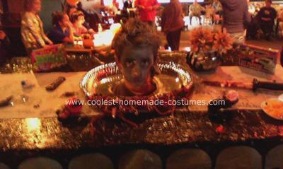 Headless Buffet Table Halloween Costume