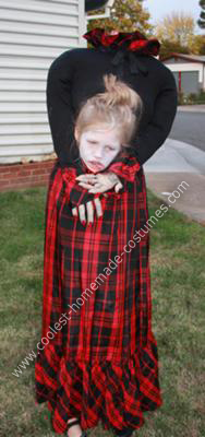 Headless Girl Costume - Front