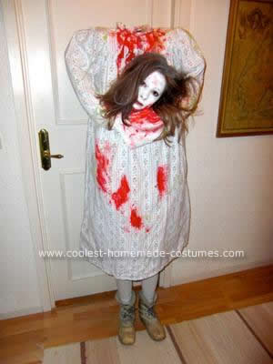 Homemade Headless Woman Costume