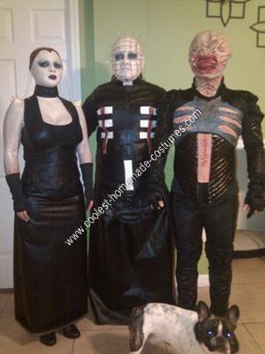 Homemade Hellraiser Group Halloween Costume Idea