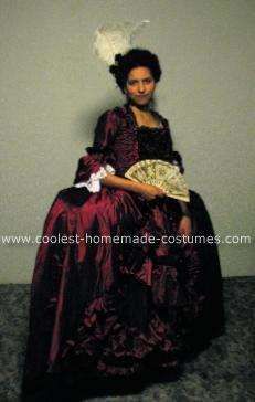 Homemade Robe à la Française Costume