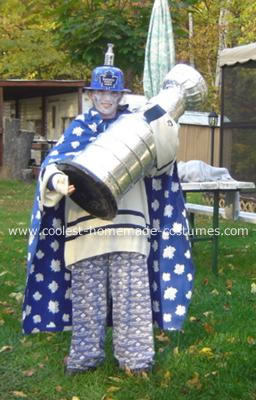 The Ghost of 1967 Maple Leafs Hockey Costume