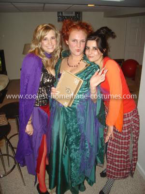 Homemade Hocus Pocus Sanderson Sisters Group Costume