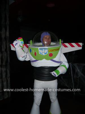 Coolest Home Made Buzz Lightyear Costume 14