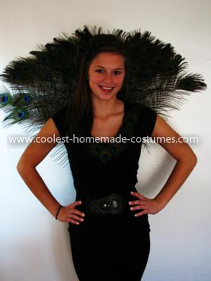 Coolest Home Made Peacock Costume 104