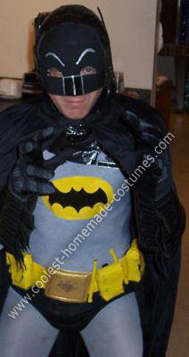 Homemade 1966 Batman Costume