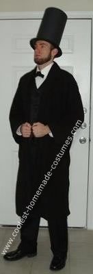 Homemade Abe Lincoln Costume