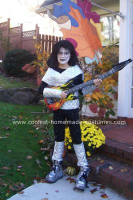 Homemade Ace Frehley from KISS Costume 28