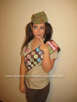 coolest homemade adult girl scout halloween costume 21420836 My cousin T and I were curious