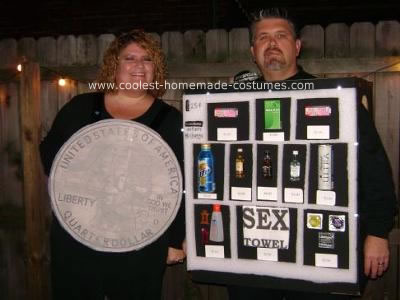 coolest homemade adult vending machine and quarter costume 6 21384977 Britney Stevens' DIRTY ANAL CUM FART ((Cochinadas))