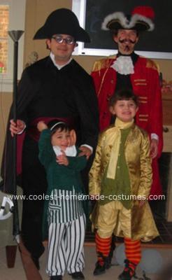 Homemade Adventures of Baron Munchausen Group Costume