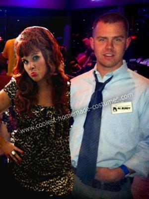 Homemade Al and Peggy Bundy Halloween Couple Costume