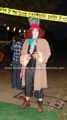 Homemade Alice in Wonderland Costume