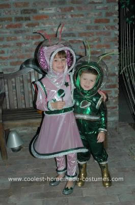 Homemade Alien Costumes
