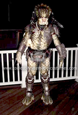 Homemade Alien vs. Predator Costume