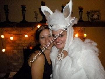 Homemade Alpaca Costume