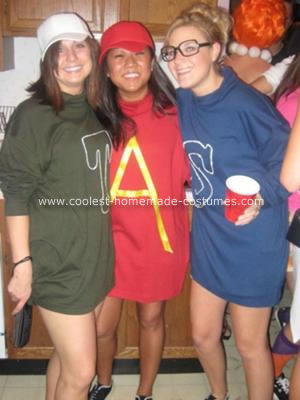 Homemade Alvin and the Chipmunks Group Costume