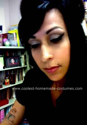 Homemade Amy Winehouse Costume