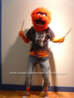 Animal of The Muppets Halloween Costume