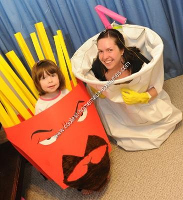 Homemade Aqua Teen Hunger Force Group Halloween Costume