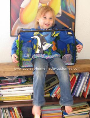 Homemade Aquarium Costume Idea