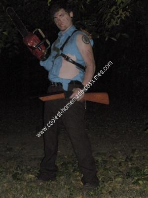 Homemade Ash Halloween Costume
