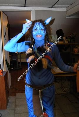 Homemade Avatar Adult Costume Idea