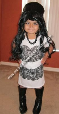 Homemade Baby Snooki Costume