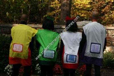 Homemade Bags of Potato Chips Group Halloween Costume