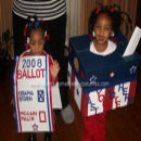 Ballot and Ballot Box Costumes