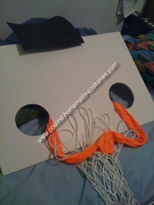 Homemade Basketball Hoop Costume