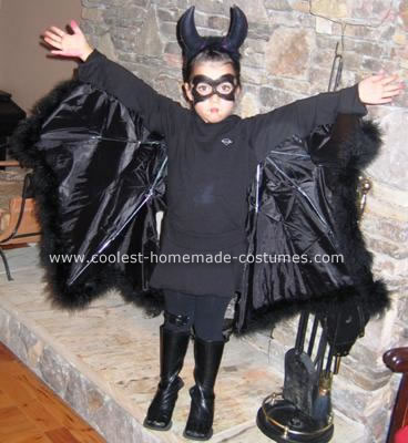 Homemade Bat Costume