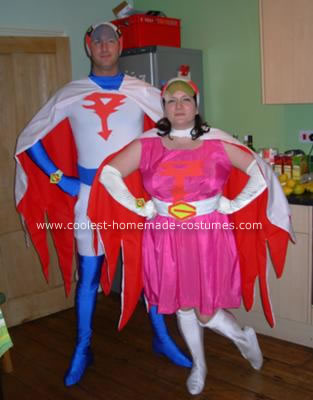 Homemade Battle of the Planets Costumes