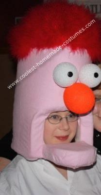 Homemade Beaker Costume